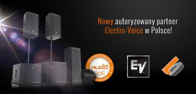 Lighting Center autoryzowanym partnerem marki Electro-Voice