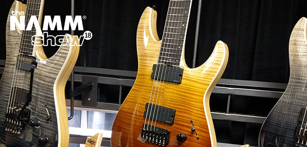 NAMM'18: Z kamerą na stoisku Schecter Guitars [VIDEO]