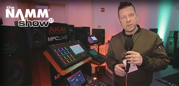 NAMM2017: Kontrolery Akai MPCX i MPC Live [VIDEO]