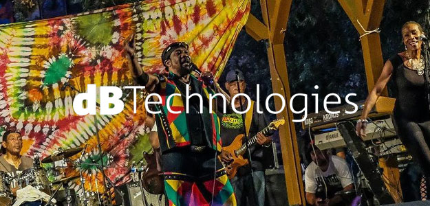 dBTechnologies na festiwalu Reggae on the Mountain w Kalifornii