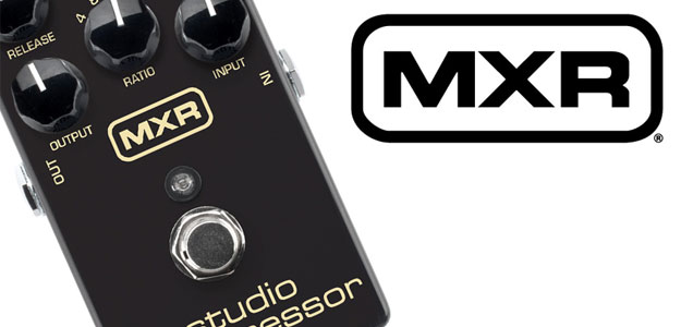 NAMM2016: Kompresor MXR by Dunlop Studio Compressor