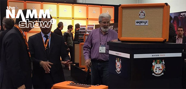NAMM2017: Rocker - nowe lampowe comba od Orange