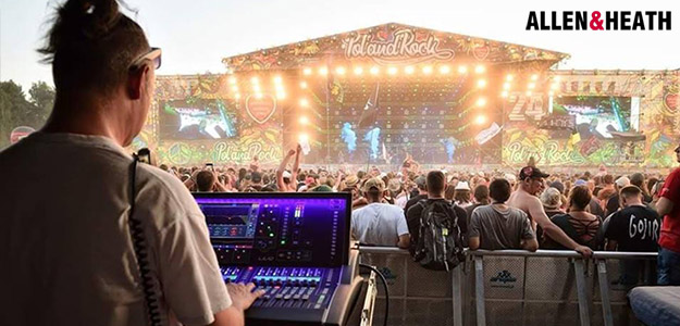 Allen & Heath dLive na Pol'And'Rock 2018