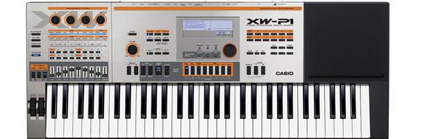 Test syntezatora CASIO XW-P1