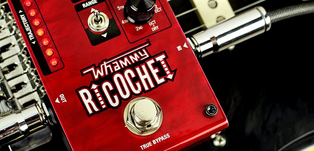 Whammy Ricochet - Kompaktowy Pitch Shifter od DigiTech