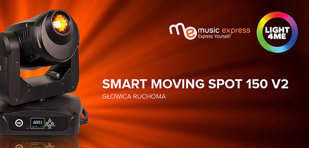 Music Express obniża cenę Light4Me Smart Moving Spot 150 V2
