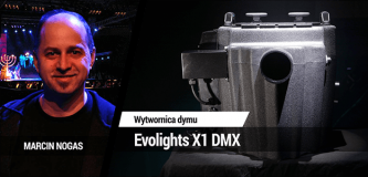 Wytwornica dymu Evolights X1 DMX