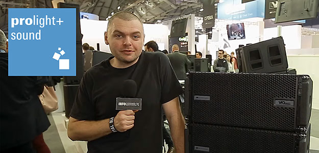 VIO L208 i S118R - Nowy system liniowy dbTechnologies [VIDEO]