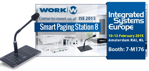 ISE 2015: Debiut Smart Paging Station 8 od WORK Pro
