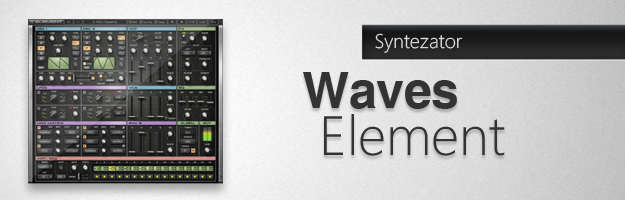 Pierwszy syntezator Waves Audio - Element
