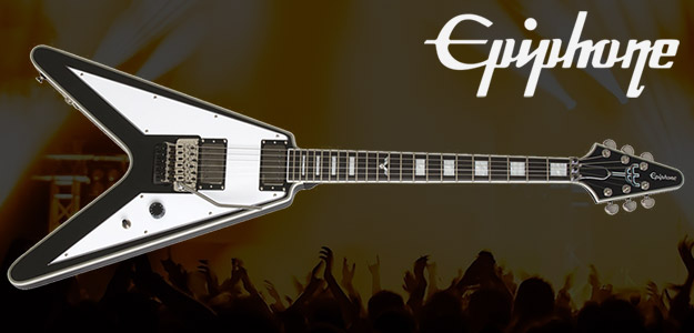 Nowość od Epiphone'a - Richie Faulkner Flying V Custom Outfit
