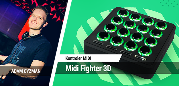 TEST: DJ TechTools Midi Fighter 3D