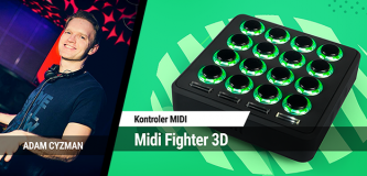 Kontroler Midi Fighter 3D