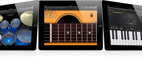 Garage Band na iPad i iPad2