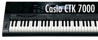 test Casio CTK 7000