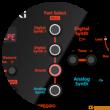 Roland JD-Xi BL - interaktywny syntezator analogowo-cyfrowy - zdjęcie 6