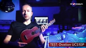 TEST: Ukulele Ovation UCS10P
