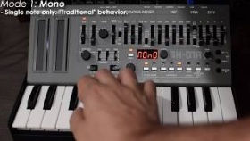 Roland SH-01A Boutique Synthesizer QUICK DEMO
