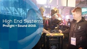 High End Systems TurboRAY - nowości - (Prolight+Sound 2019)