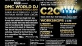 DMC World DJ Final 2015: Sun 4th October + C2C + All Day Workshops!