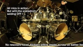 METALEX - KickPro Bassdrum Pillow - test