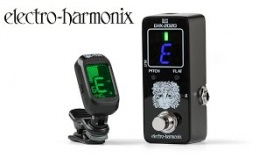 EHX-2020 Chromatic Tuner Pedal & Clip-on Tuner