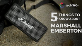 5 Things To Know About The New Marshall Emberton Speaker