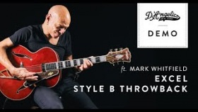 Excel Style B Throwback Demo with Mark Whitfield | D'Angelico Guitars