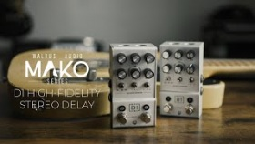 Walrus Audio Mako Series: D1 High-Fidelity Stereo Delay
