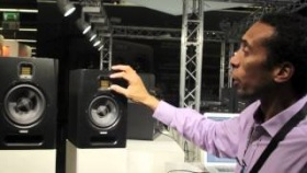 Adam F series speakers @ Musikmesse 2012