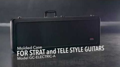 Gator Cases GC-ELECTRIC-A Molded Case for Strat And Tele Style Guitars