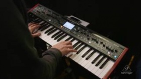 Behringer DeepMind 12 Patch Demonstration - Bank B