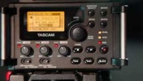 TASCAM DR-60D Recorder for DSLR Filmmakers