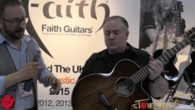 FAITH GUITARS - Winter NAMM 2016