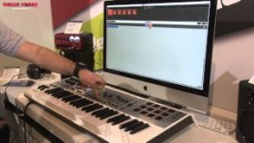Musikmesse 2013 - M-AUDIO Axiom AIR 49 + NEW Ignite-Software (english)
