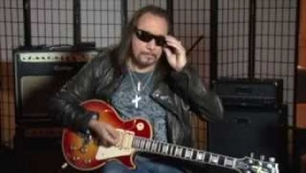 "Ace Frehley ""Budokan"" Les Paul Custom with Ace Frehley from Kiss"