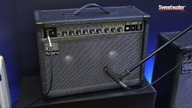 Summer NAMM 2015: Roland JC-40 Guitar Amp Demo by Sweetwater