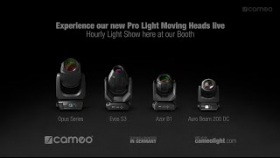 Experience our new Pro Light Moving Heads live at the LDI Show in Las Vegas