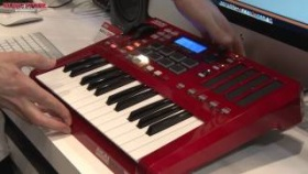 Musikmesse 2013 - AKAI MAX 25 Controller Keyboard (english)