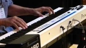 Joe Sample plays Casio Privia Pro PX-5s at NAMM 2013