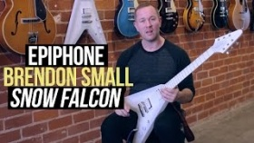 The Epiphone Brendon Small 'Snow Falcon'