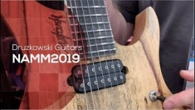 Druzkowski Guitars - boutique guitars (NAMM19)
