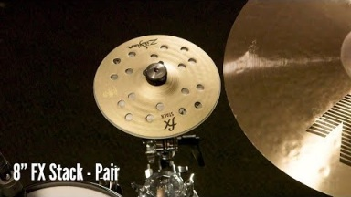 "Zildjian Sound Lab: 8"" FX Stack 
