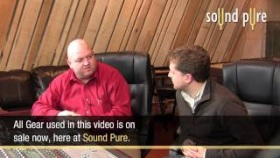 CharterOak PEQ1 - EQ Drums Mix in Stereo Video