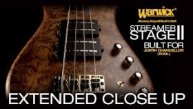 Warwick Custom Shop Masterbuilt: Streamer Stage II Bubinga Pommele? for Justin Chancellor #3377