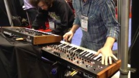 Nova Musik - Dave Smith Instruments Prophet 12 Tempest Mopho x4 at NAMM 2013