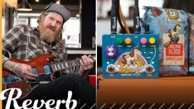 Brent Hinds Demos the KHDK Unicorn Blood Octave Fuzz | Reverb Demo Video