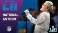 P!nk Belts Out the National Anthem! | Super Bowl LII NFL Pregame