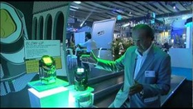 PLASA 2011: Clay Paky's Glow-Up portable uplighter