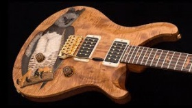 "Michael Reid's ""Harpy Guitar"" Charity Auction"